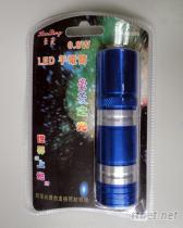 0.8W LED手电筒