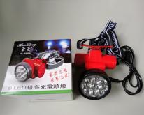 LED超亮充電頭燈