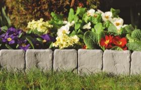 石头型篱笆