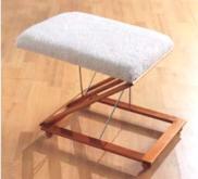 木質擱腳椅