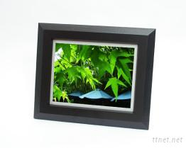 數位相框之木製框架