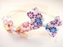 緞帶蝴蝶結髮箍