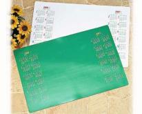 塑膠日誌桌曆