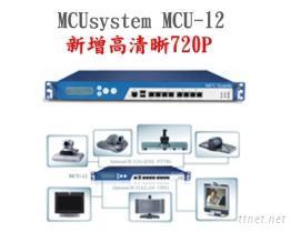 MCUsystem-12多點視訊會議控制系統主機