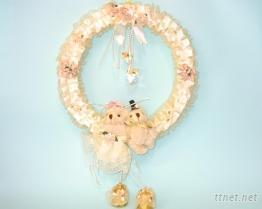 婚禮小物-花環