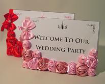 婚礼小物-浪漫的相框