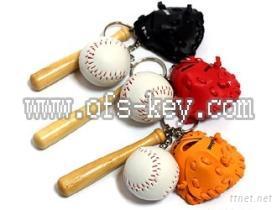 棒球鑰匙圈