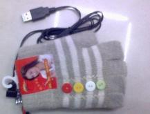 USB電熱手套