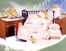 嬰兒棉被7件式床組