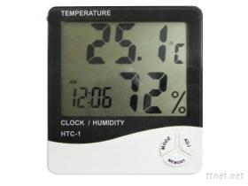 溫濕度計時鐘
