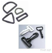 塑膠環, 塑膠鉤, 塑膠扣具