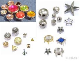 裝飾釦, 裝飾爪釦, 鑽釦