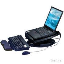筆記型電腦散熱架