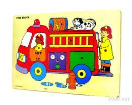 消防車拚圖