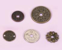 古幣金屬鈕釦