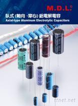 M.D.L. 臥式電解電容器
