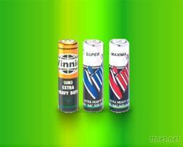 氯化锌柱型电池