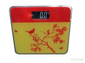 體重秤-紅花