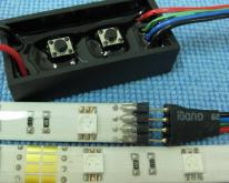 ES-5050RGB高亮度LED軟燈條含14段雙按鍵控制器