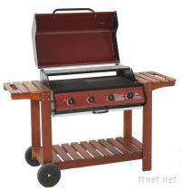4爐頭經濟型烤肉爐