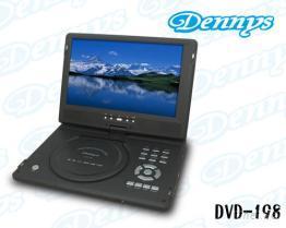 10.2吋攜帶型數位電視DVD光碟機