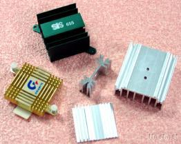 鋁擠型電子用散熱片