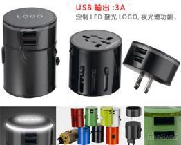 魔幻双USB转换插座