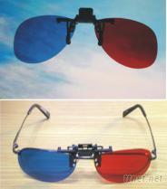 3D紅藍夾子型立體眼鏡