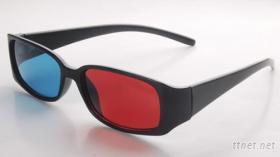 3D红蓝摺叠眼镜