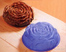 玫瑰花矽膠蛋糕模