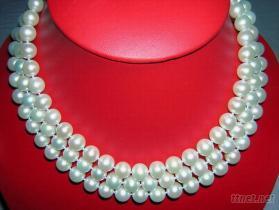 特級淡水珍珠項鏈