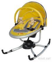 小巨蛋婴儿旋转安抚摇椅