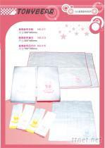 湯尼熊嬰兒棉織品/乳膠枕頭系列商品