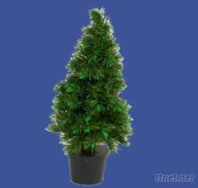 花纖聖誕樹