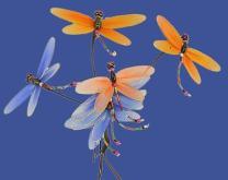 光纖絲網蝴蝶
