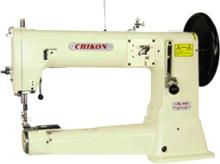 長臂筒型單針綜合送料縫紉機(極厚物料之車縫)