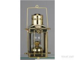 古式铜制航海油灯203