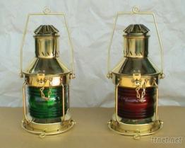 銅製古式航海油燈505RG