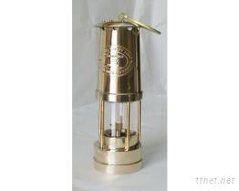 古式銅製礦工燈307