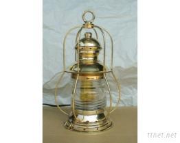 古式铜制油灯305