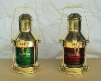 铜制古式航海油灯505RG