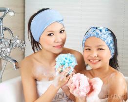 浴帽, 束发带