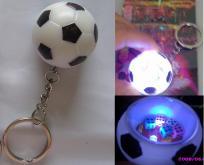 快樂足球閃光鑰匙扣