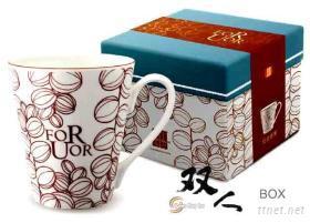 咖啡豆馬克杯+盒
