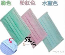 台湾制作平面式三层儿童口罩