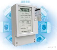 三相四线电子式预付费(IC卡)电能表
