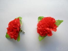 5元康乃馨胸花