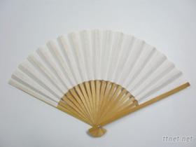 竹片紙扇子(空白)