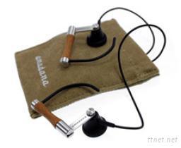 高檔竹子耳機