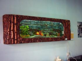 油畫式水族箱